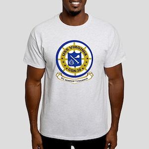 USS Virginia CGN 38 Light T-Shirt
