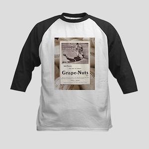 1909 Grape-Nuts Baseball Ad Kids Baseball Jersey