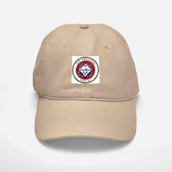 USS Arkansas CGN 41 Baseball Baseball Cap