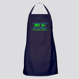 Always Stand Out Apron (dark)
