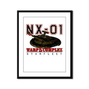 NX-01 Framed Panel Print
