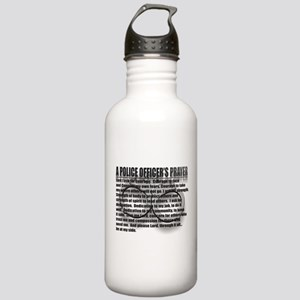 A POLICE OFFICER'S PRAYER Stainless Water Bottle 1
