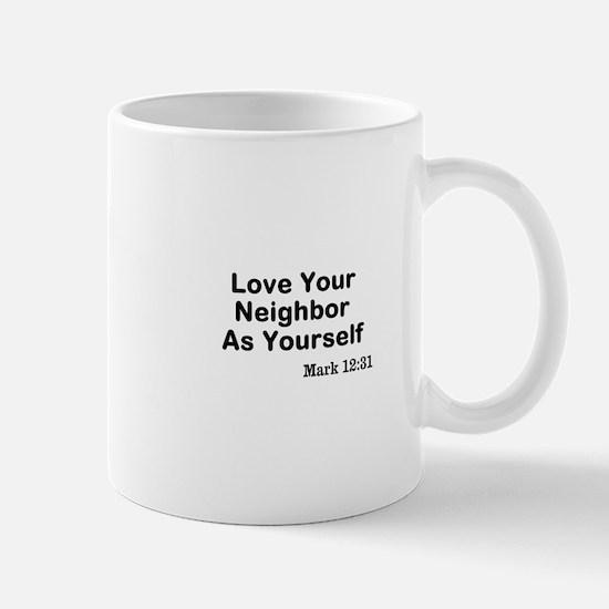 Jesus & Caring For Others Mug