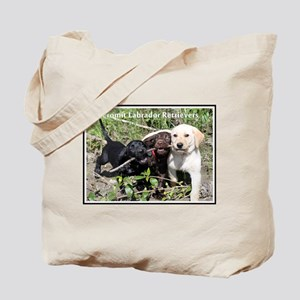 Lab Puppy Tote Bag