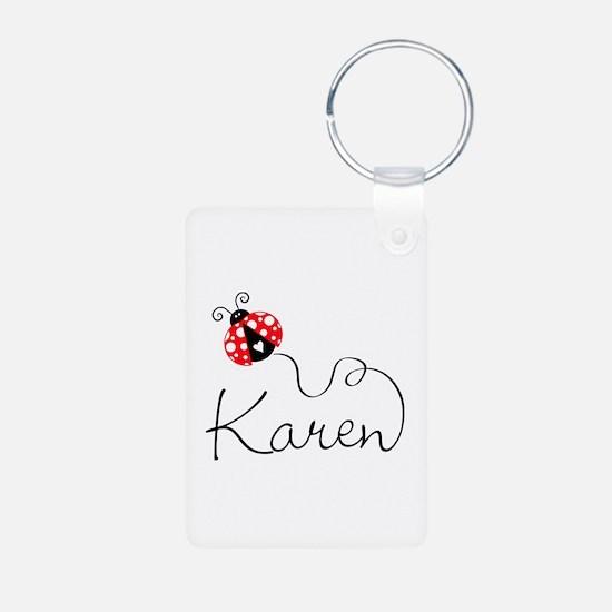 Ladybug Karen Keychains