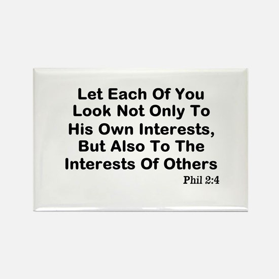 Interests Of Others Rectangle Magnet