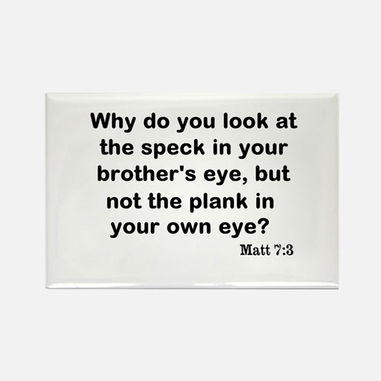 Brothers eye Rectangle Magnet