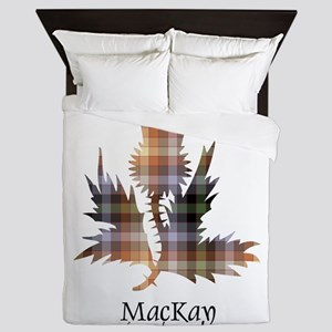 Thistle - MacKay of Strathnaver Queen Duvet