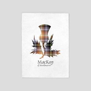 Thistle - MacKay of Strathnaver 5'x7'Area Rug