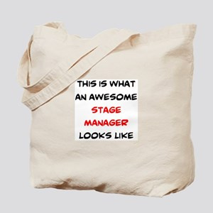 awesome stage manager Tote Bag