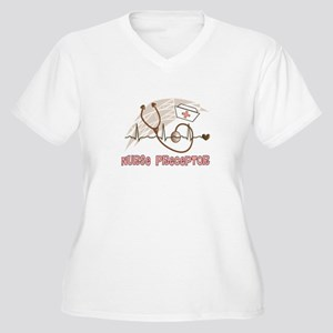 Nurse Preceptor Women's Plus Size V-Neck T-Shirt