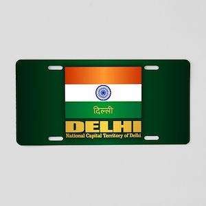 Delhi Aluminum License Plate
