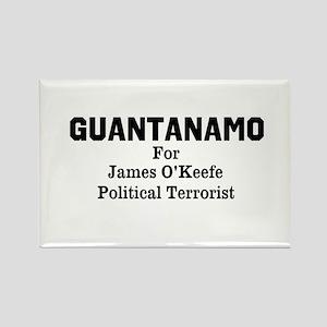 Guantanamo 4 O'Keefe Rectangle Magnet