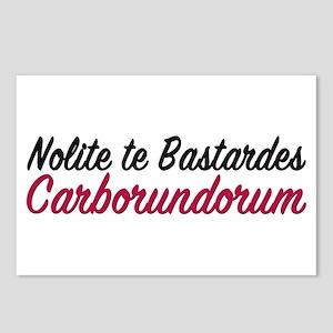 Nolite te bastardes carborundorum Postcards (Packa