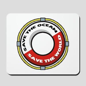 Save The Ocean Mousepad