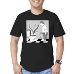 So Close to the Ocean (no text) Men's Fitted T-Shi