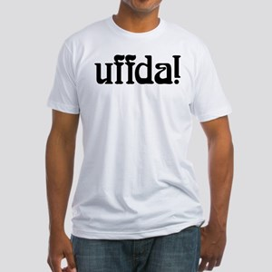 uffda Fitted T-Shirt