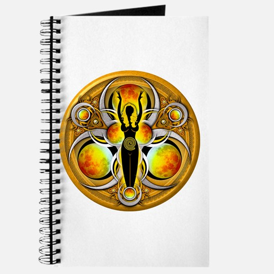 Goddess of the Yellow Moon Journal