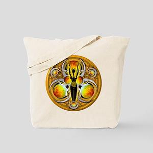 Goddess of the Yellow Moon Tote Bag