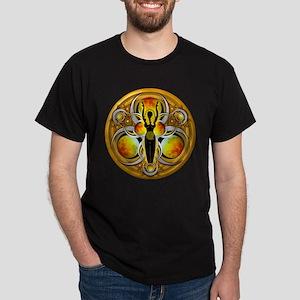 Goddess of the Yellow Moon Dark T-Shirt