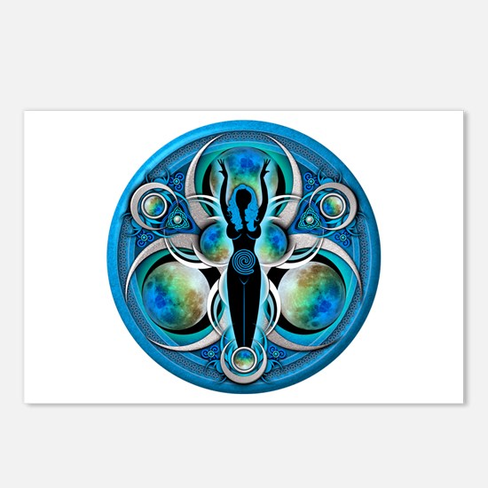 Goddess of the Blue Moon Postcards (Package of 8)
