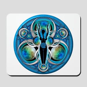 Goddess of the Blue Moon Mousepad