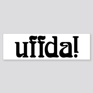 uffda Bumper Sticker