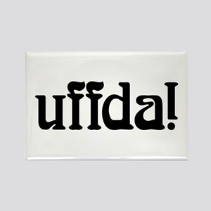uffda Rectangle Magnet