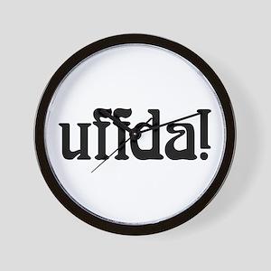uffda Wall Clock