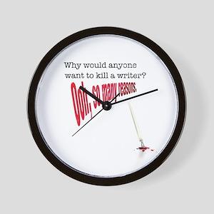 Why would anyone... Wall Clock