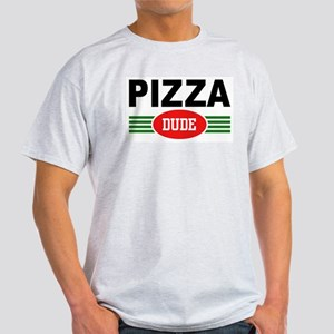 Pizza Dude Ash Grey T-Shirt