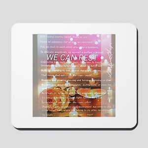 We Can Rest Mousepad