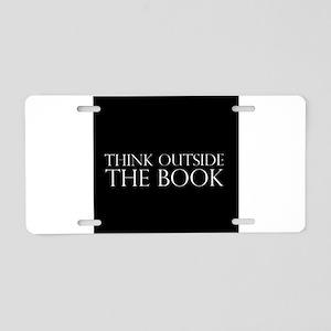 ThinkOTB Aluminum License Plate