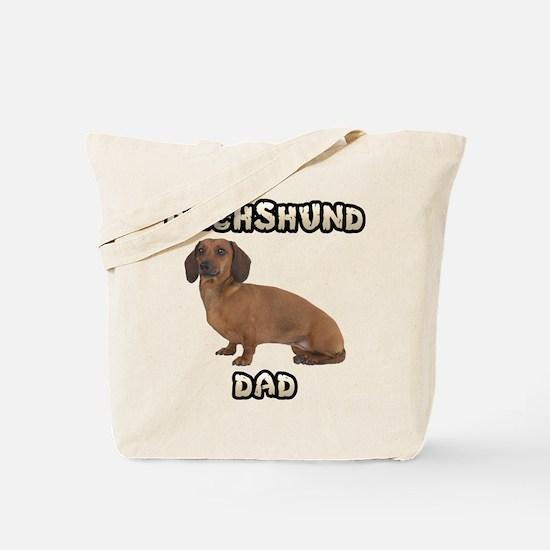 Dachshund Dad Tote Bag