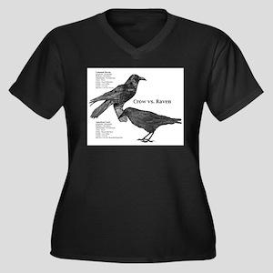 crow-vs-raven Plus Size T-Shirt