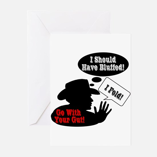 Go With Your Gut! Greeting Cards (Pk of 10)