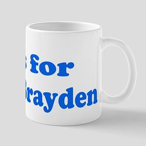 Baby Blocks Brayden Mug