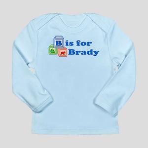 Baby Blocks Brady Long Sleeve Infant T-Shirt