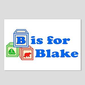 Baby Blocks Blake Postcards (Package of 8)