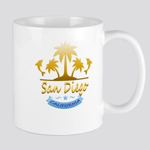 San Diego Dolphins Ocean Mugs