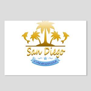 San Diego Dolphins Ocean Postcards (Package of 8)