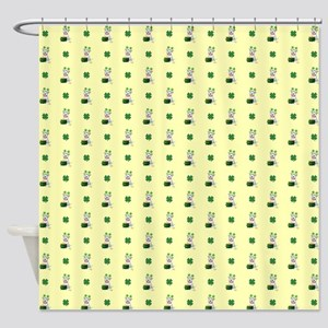 ST. PATRICK'S PUP Shower Curtain