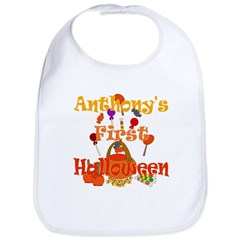 Anthony's First Halloween Bib