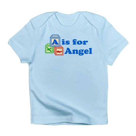 Baby Blocks Angel Infant T-Shirt