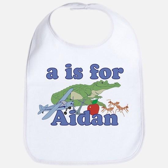 A is for Aidan Bib
