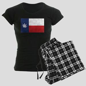 Vintage TX Leaf Women's Dark Pajamas