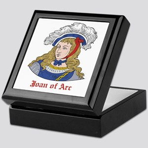 Joan of Arc Keepsake Box