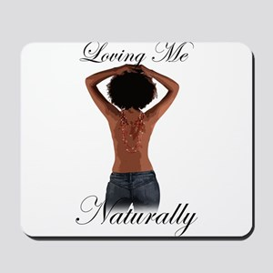 Loving Me Naturally Afro Natural Hair Hands Mousep