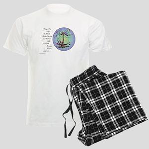 BRIGHT DRAGONFLY SPIRIT Men's Light Pajamas