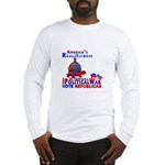 America's Real Illness Long Sleeve T-Shirt